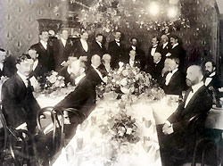 An early San Joaquin Medical Society Dinner – 1903
